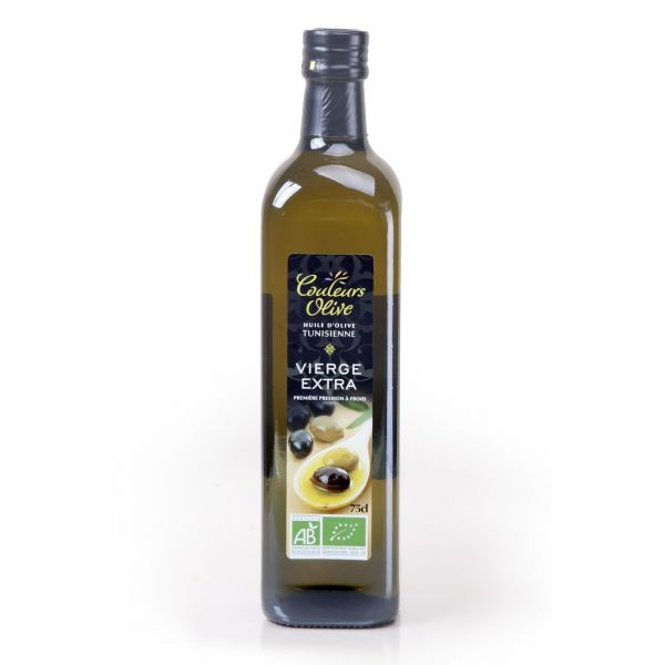 Huile d'olive extra vierge d'olive italienne